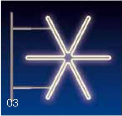 JISKRA 30W LED 115x105, denní bílá