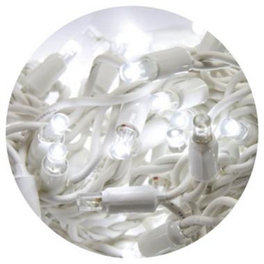 HIGH-PROFI LED girlanda DELUXE stálesvítící - studená bílá