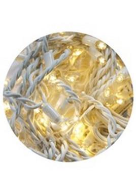HIGH-PROFI LED girlanda DELUXE stálesvítící - teplá bílá
