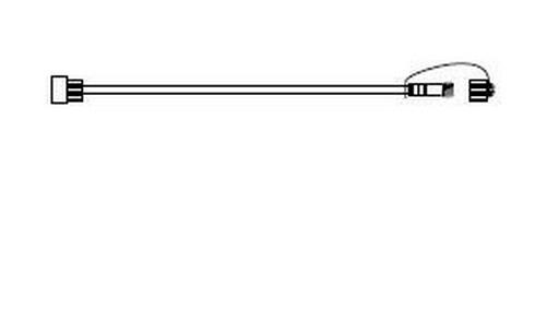 Prodlužovací kabel 230V, 2m - černá