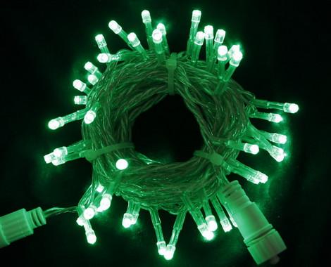 Vánoční LED girlanda prodlužovací 230V - zelená