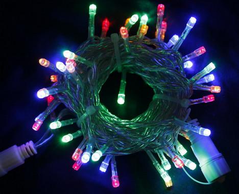 Vánoční LED girlanda prodlužovací 230V - multicolor
