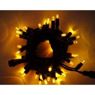 Girlanda LED PROFI 5m/40 LED žlutých, prodloužitelná