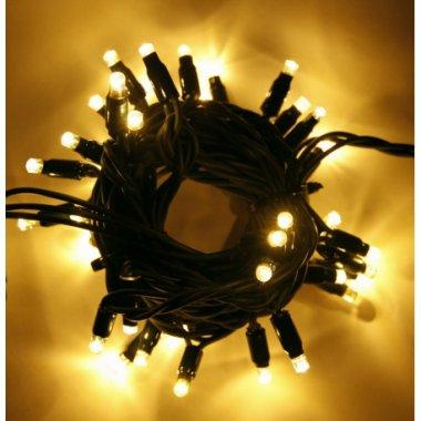 Girlanda LED PROFI 5m/40 LED teplých bílých, prodloužitelná