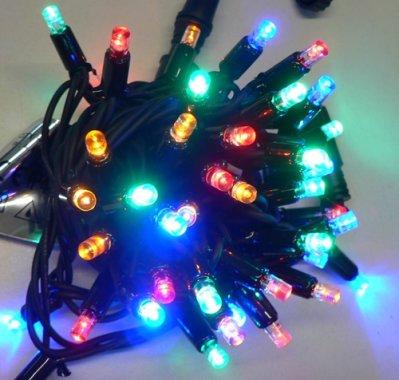 Girlanda LED PROFI 5m/40 LED barevných, prodloužitelná