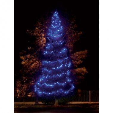 MAXILEB-LED - světelný řetěz 20m/200 modrých LED, VYSOKÁ ŽIVOTNOST!