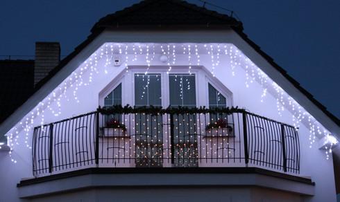 Vánoční světelné LED rampouchy - 24V