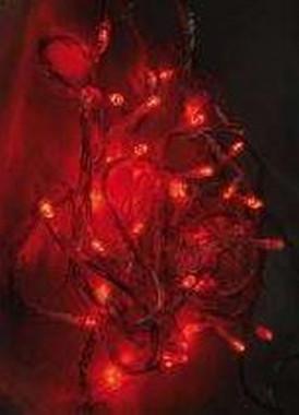 LED girlanda 24V efektová - červená