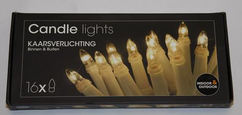 Tradiční vánoční svíčky - 16ks
