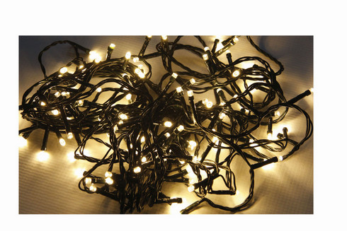 Vánoční LED girlanda 230V/10m - teplá bílá