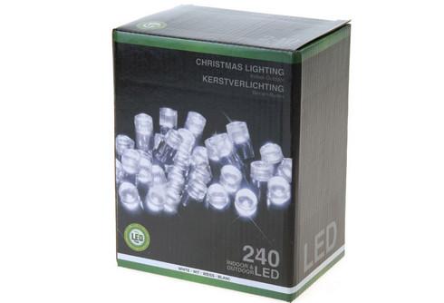 Vánoční LED girlanda 240 LED - studená bílá