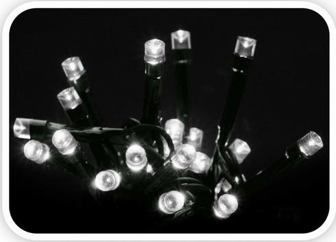 Vánoční LED girlanda 120 LED - 24V - studená bílá