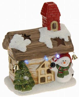 Vánoční domek svítící - varianta A