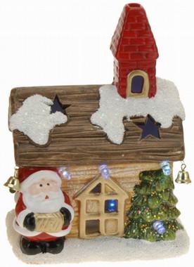Vánoční domek svítící - varianta B