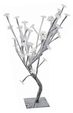 Stromek kvetoucí sakura se sněhem - malá