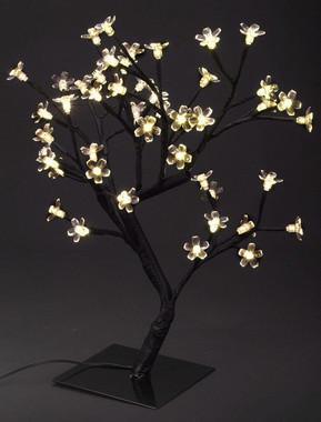 Stromek s květy svíticí 24V