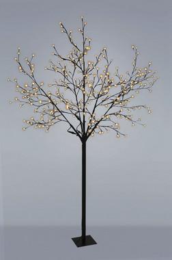 Strom svíticí s květy a ovladačem pro 8 programů