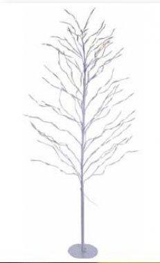 Strom svítící bílý zasněžený (29 větví), teplá bílá