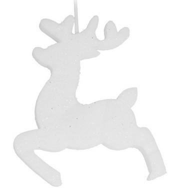 Sob - závěsná pěnová vánoční LED dekorace