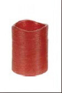 LED svíčka,červená-5 x 6,5 cm