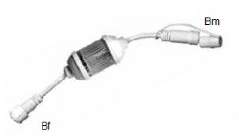 Záblesková žárovka LED pro MAXILEB, bílá